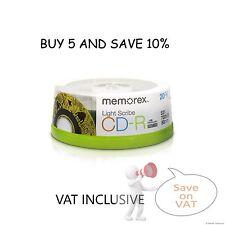 Memorex 04732 4732 Lightscribe Light scribe CD-R 52x 800MB 20 Pack X HP VERBATIM