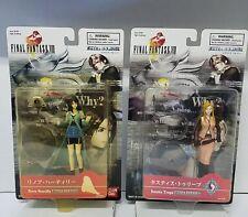 Bandai Final Fantasy 8 Rinoa Heartilly and Quistis Lot of 2 Collectible Figures