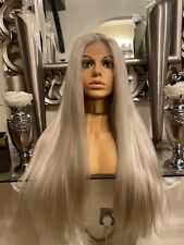 Human Hair Wig Lace Front Long Blonde Wig Transparent Lace Blonde Wig