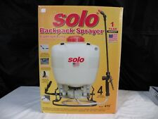 Solo Backpack Sprayer Model 475  (4 Gallon)
