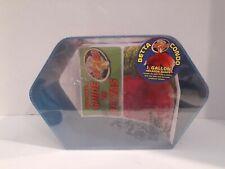 Zoo Med Betta Condo 1 Gallon Hexagon Blue with Guide & Conditioner