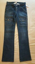 """NWT $140 JOIE JEANS """"SO REAL"""" Button Fly Boot Cut Stretch Denim - Sz 26"""