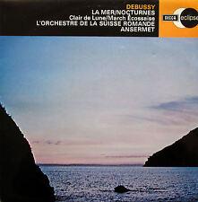 ECS 515 Debussy La Mer Nocturnes Ansermet Suisse Romande DECCA NM/EX
