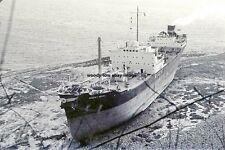 rp14345 - Grounded UK Tanker - Regent Royal , built 1954 - photo 6x4