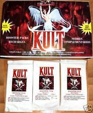 "Lot de 3 BOOSTERS DU JEU "" KULT "" en FRANCAIS 45 cartes"