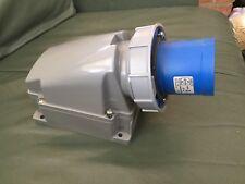 63Amp Mounted Plug waterproof IP67 Lewden PM63/741 Location eBox