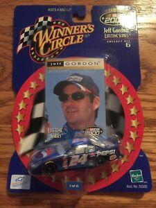 Diecast WINNERS CIRCLE Jeff Gordon #24 Pepsi Nascar 2000 card and car !
