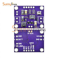 LT3652 High Precision Solar Power 2A Battery Charging Module Extension Board