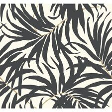 York Wallcoverings AT7056 Tropics Bali Leaves Wallpaper FREE SHIPPING