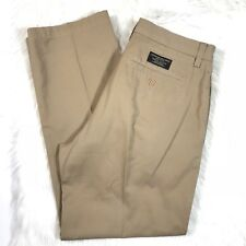 Banana Republic Mens Gavin Chino Pants Beige Tan Khaki Size 32x30 100% Cotton