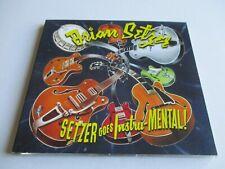BRIAN SETZER Setzer Goes Instru-MENTAL! CD 2011 Advance Copy Digipak NEW