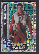 Topps Star Wars - Force Attax The Force Awakens # 206 Poe Dameron - Holographic