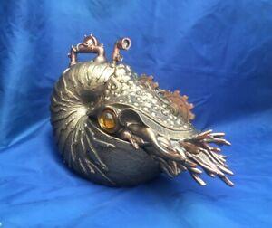 Steampunk The Nautilus Figurine Nemesis Now New Boxed Ornament Marine