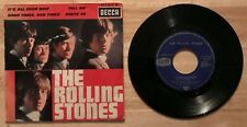 RARE FRENCH EP THE ROLLING STONES ROUTE 66