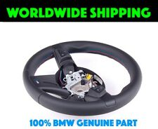 BMW E85 E86 Z4 M Roadster Nappa Leather Tri-Color Stitching Steering Wheel New