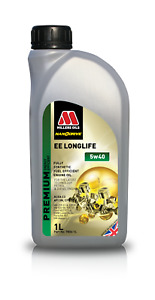 Millers Oils EE Longlife Nanodrive 5w40 Fully Synthetic Engine Oil 1lt 7806-1L