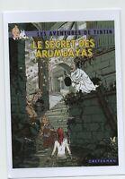 Carte Postale PASTICHE Tintin Le Secret des Arumbayas. Les aventures imaginaires