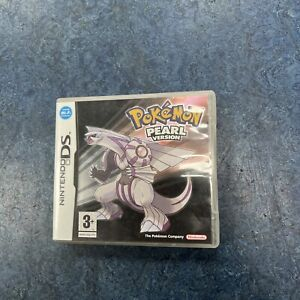 Pokemon Pearl Version - Nintendo DS - Case & Manual ONLY - NO GAME
