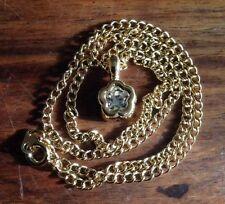 flower Rhinestone Chain Costume Necklaces & Pendants