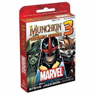 Munchkin Marvel 3 Cosmic Chaos