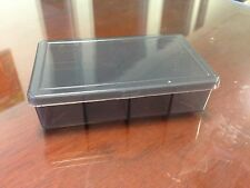 2pcs Plastic Box Storage Case Container with 8 compartments