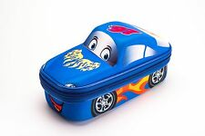 PENCIL CASE BOX SPORT CAR BLUE MAXI'S DESIGNS