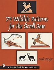79 WILDLIFE PATTERNS FOR THE SCROLL SAW - NEW PAPERBACK BOOK