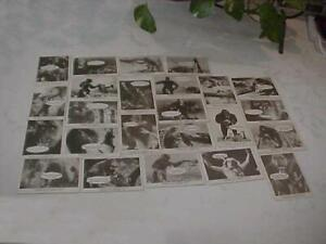 1965 DONRUSS KING KONG 24 CARD SET OUT OF 55 NO DUPLICATES VERY CLEAN