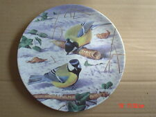 Wedgwood Danbury Mint Collectors Plate BIRDS OF A FEATHER Blue Tit