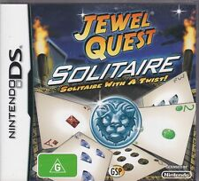 Jewel Quest Solitaire (Nintendo DS) Nintendo NDS DS Lite DSi XL Brand New