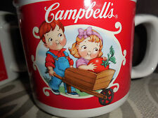 VINTAGE 2002  Classic Campbells Soup CUP/BOWL/MUG WITH HANDLE SET OF 2