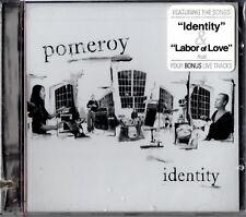"""POMEROY """"IDENTITY"""" CD 2004 fresh tracks sealed"""