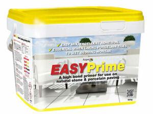 Azpects EasyPrime Porcelain Patio Paving Bonding Primer 3 x 5Kg Bags Unboxed