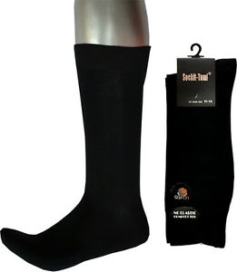 Bulk 3 Pairs Men's King Size 11-14 Loose Top Business Socks