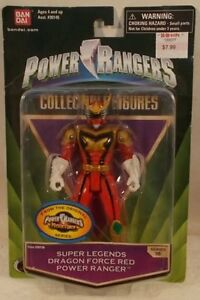Power Rangers Mystic Force Legends Dragon Force Red Ranger Heroes Series 18 MOC
