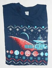 Loot crate Space Galaxy 8-Bit Classic game Men's T-Shirt Size LARGE lootcrate