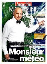 AUJOURD'HUI MAGAZINE N°4603 20 JUIN 2014 FABIUS&CLIMAT/ VILLAGE FRANCAIS/MANDELA
