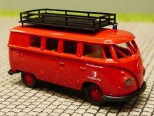 1/87 Brekina # 0817 VW T1 b Bus Feuerwehr Augsburg Sondermodell Reinhardt