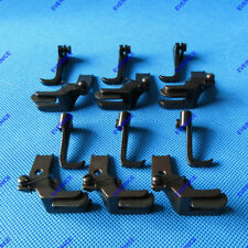 6 SETS FOR JUKI DNU-1541 241 LU562 563 WALKING FOOTwith LEFT RIGHT EDGE GUIDE