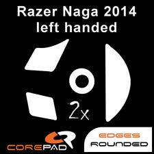 Corepad Skatez Razer Naga 2014 Left Handed Replacement mouse feet Hyperglides