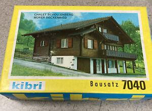 KIBRI   Chalet Kit    BAUSATZ 7040   HO  ***NEW IN BOX.***