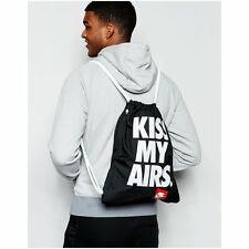Nike Heritage Kiss My Airs Retro Vintage Gymsack Backpack Bag Gym College School
