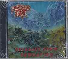 Scourged Flesh-Released From Damnation CD Christian Death Metal Brand New-Sealed