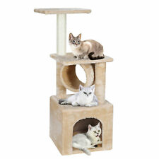Three Levels Cat Tree Activity Tower Furniture Condo Furniture Scratching Post