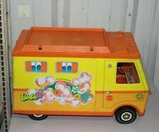 Vintage Orange Mattel Barbie Country Camper