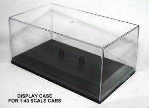 Cararama DISPLAY CASE Diecast Car Models Suitable For Scale 1:43 Cars