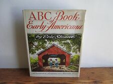 Eric Sloane ABC Book of Early Americana 1st Edition HB Jacket 1963