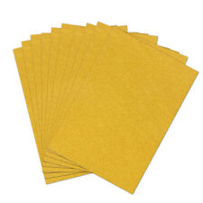 10pcs 6 Colors A4 Sheets Glitter Cardstock Craft Scrapbook for Card DIY Making Golden
