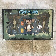 Neca Movie Gremlins Stripe Gizmo Poker Action Figures set VERY RARE 3 pack Lot