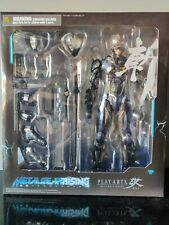 "Play Arts Kai Metal Gear Rising Revengeance RAIDEN 10"" Figure Used Complete"